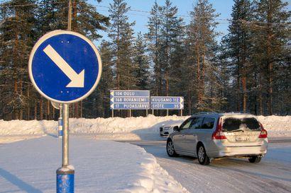 Ouluntien ja Puolangantien talvihoidon taso nousi– teiden parempi kunto lisää turvallisuutta