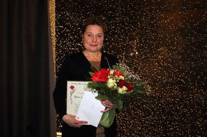 Iloiselle ikiliikkujalle kiitosta: Tiina Salonpää on Pudasjärven merkkihenkilö 2020