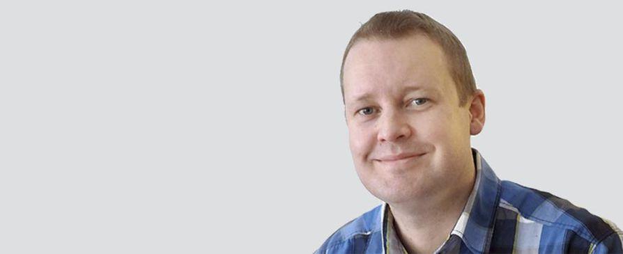 Kolumnin kirjoittaja Petri Vartiainen.