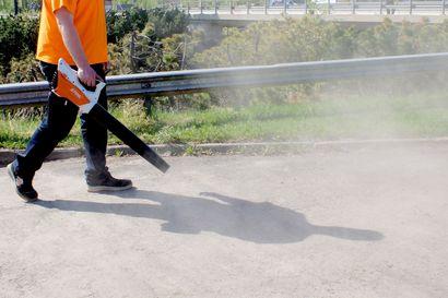 Raahe määräsi kiinteistönhoitofirmat kiinnittämään huomiota pölyämisen ehkäisemiseen