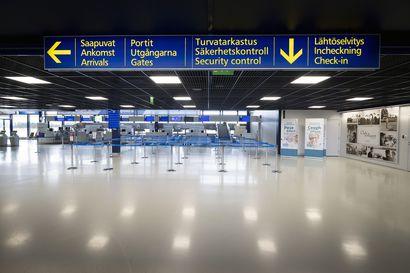 Turvatarkastuslaatikoita desinfioidaan ultraviolettivalolla Oulun ja Rovaniemen lentokentillä – laitetta testattu jo Helsinki-Vantaalla