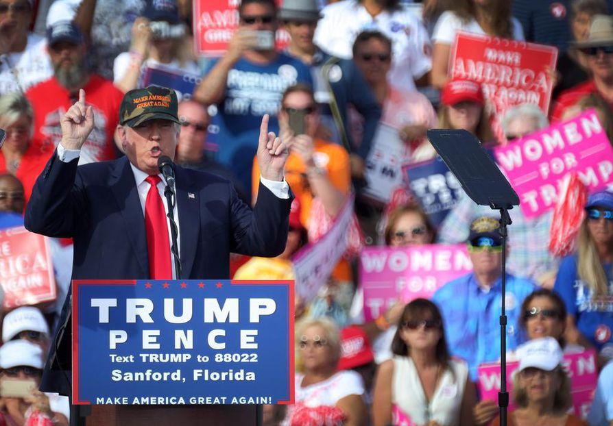 Donald Trump on ollut viime ajat kourimissyytösten kourissa.