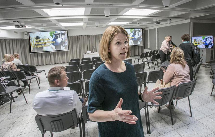 BusinessAseman yhteisökoordinaattori Helena Poukkasen mukaan ajatus kohtaamispaikasta syntyi muutama vuosi sitten. Sen jälkeen ideaa jalostettiin yhteistyökumppaneiden kanssa.