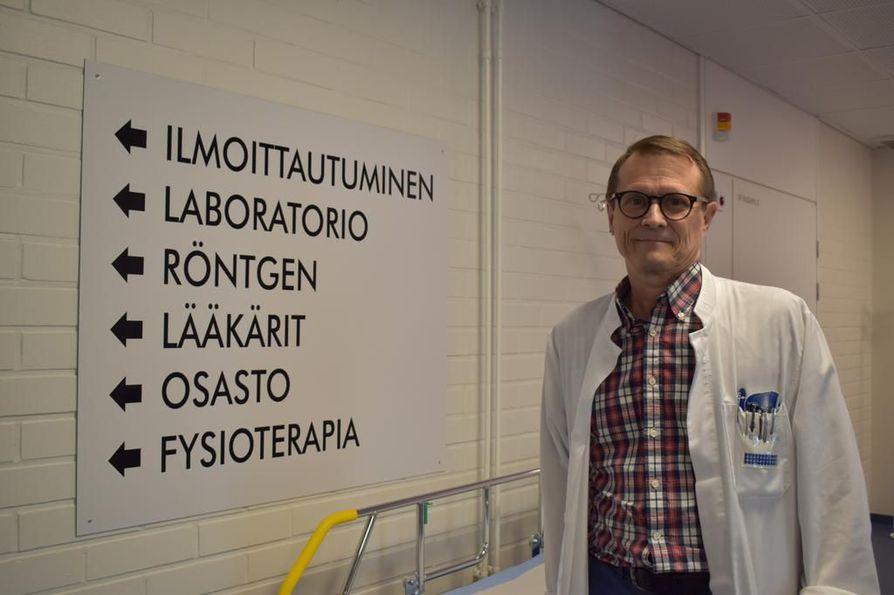 Taivalkosken johtavan lääkärin Hannu Honkanen sanoo, että influenssa tulee Eurooppaan marraskuun kieppeillä.