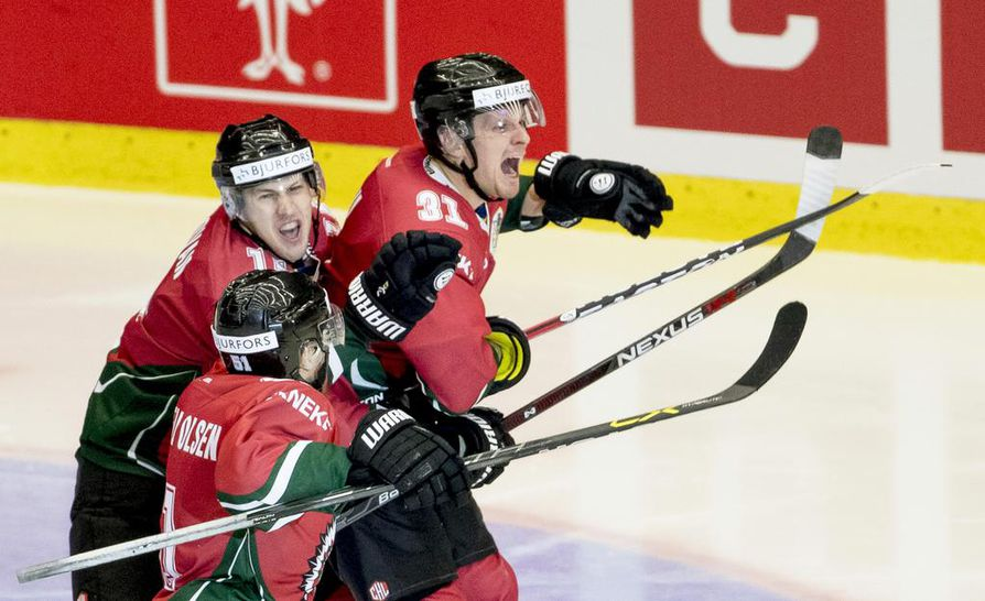 Nicklas Lasu (31) edusti Frölundaa ennen Kärppiin siirtymistään.