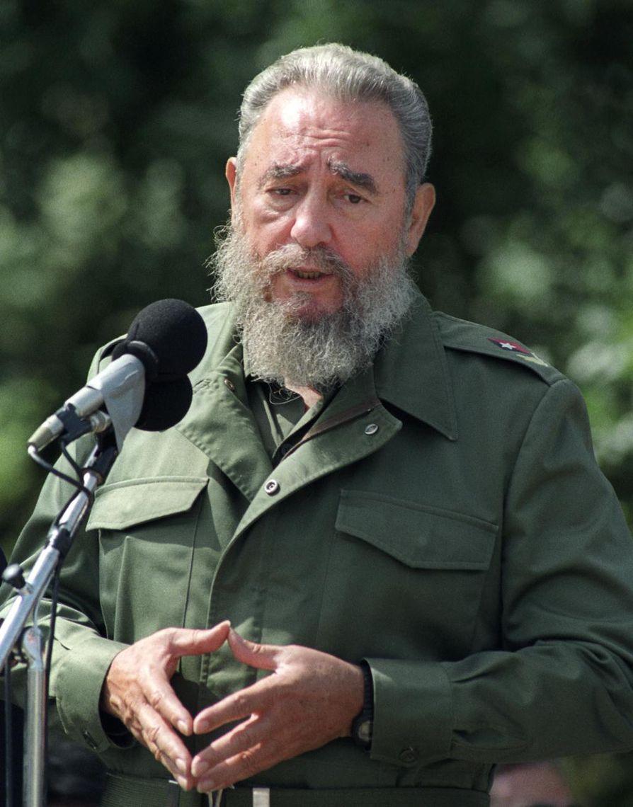 Castro kuoli 90 vuoden iässä.
