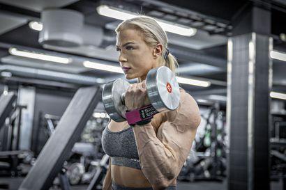 Paula Ranta, 21, on hankkinut järisyttävän määrän lihasta vuodessa – maailman parhaaksi tähtäävä oululainen herää treenaamaan aamukolmelta joka päivä