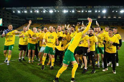 Valioliigaan palaava Teemu Pukin Norwich koki tappion 1–3 Bournemouthille - jäitä polveen