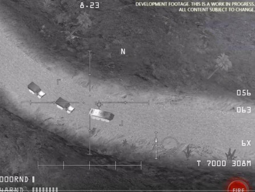 Venäjän puolustusministeriön todisteeksi esittämät kuvat oli otettu muun muassa AC-130 Gunship Simulator: Special Ops Squadron -pelistä, joka on saatavilla muun muassa älypuhelimille.