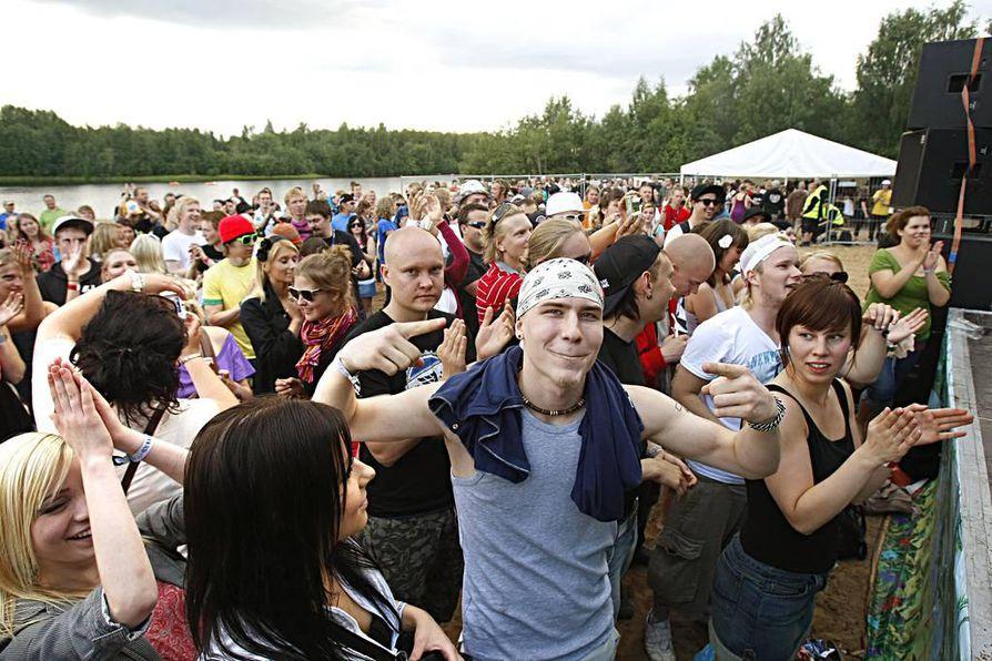 Nykyisin Kuusisaaren suurin tapahtuma on rockfestivaali Qstock.