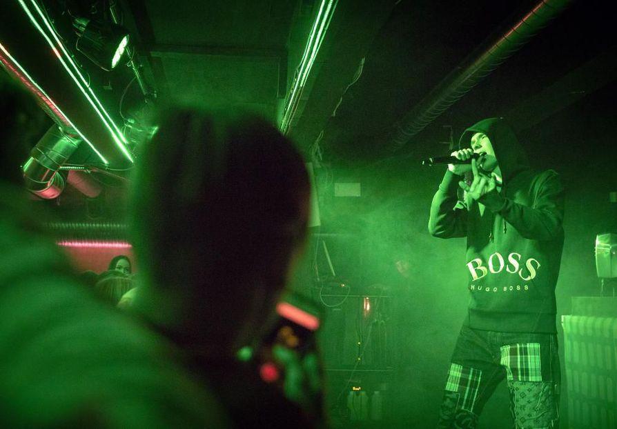Ibe edustaa Suomessa vielä varsin pienessä nosteessa olevaa melodista rappia.