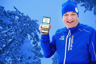 Reijo Jylhän virtuaalinen maastohiihtokoulu tekee hiihdon oppimisen helpoksi