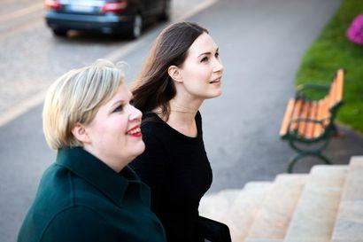 Valtiovarainministeri Saarikko ja pääministeri Marin lupasivat etsiä poliisille riittävät resurssit niin, että poliisien määrä ei vähene