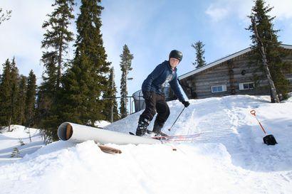 Junnuilla hyvä talvi freestyle-mäessä - Ruka Slalomin laskijat menestyivät kotimaisella kilpailukiertueella, nyt treenipaikka löytyy kotipihasta