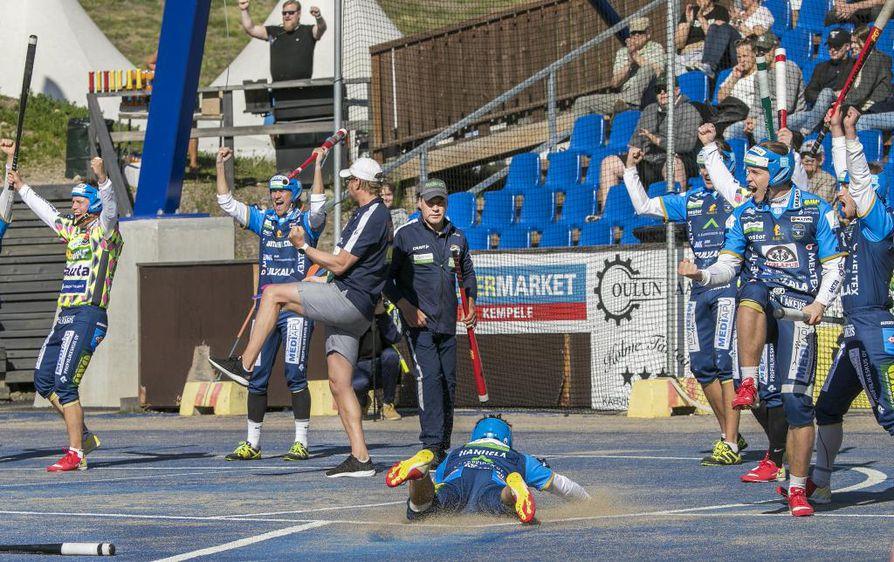 PattU haki sunnuntaina Kempeleen Sarkkirannasta 0–1 (6–7, 1–1) -voiton, jonka myötä raahelaisten voittoputki venyi neljään otteluun.
