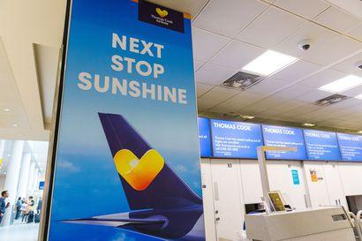 Tjäreborg ilmoitti jatkavansa lentoja normaalisti tiistaina – asiakkaille kerrotaan paluulennoista tekstiviestillä
