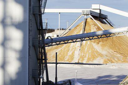 Pääkirjoitus: Metsä Groupin tehdasvakuuttelu kertoo kovenevasta puukisasta