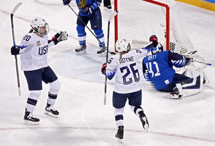 USA vei voiton Suomesta 1-3.