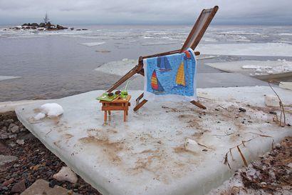 Äänestä Raahen Seudun lukijoiden jääkuvakilpailussa: mikä kuva sinusta on paras?
