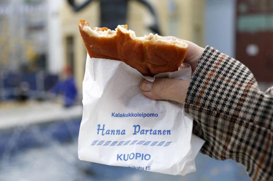 Hanna Partasen ohutta ja täyteläisen makuista lihapiirakkaa kuvailtiin täydelliseksi.