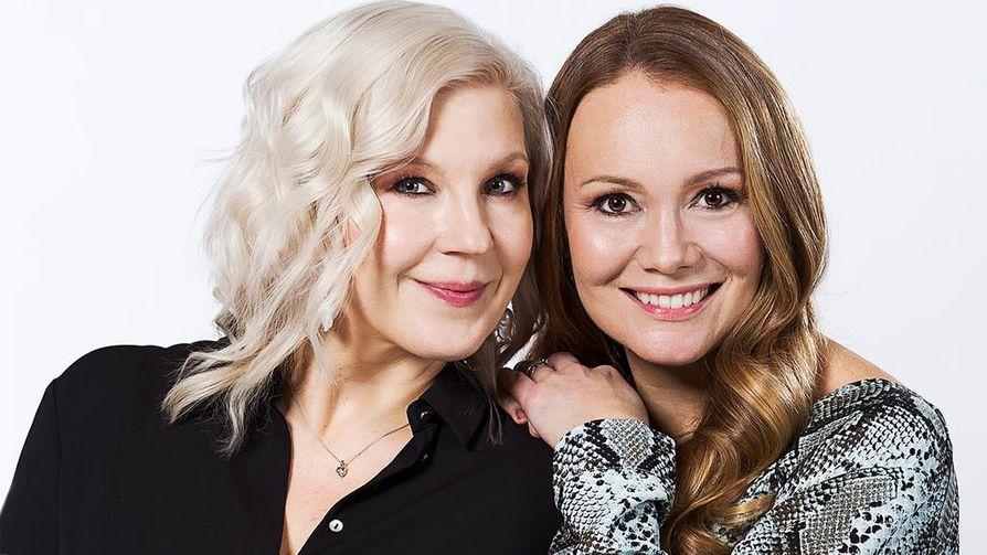 Vappu ja Marja Live -keskusteluohjelma on suora lähetys, jota Marja Hintikka vetää yhdessä Vappu Pimiän kanssa.