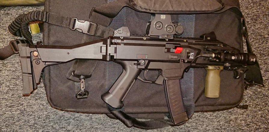Poliisin konepistooli CZ Scorpion Evo