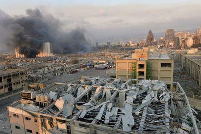 Beirutissa räjähti todennäköisesti ammoniumnitraatti, yhden suomalaisen tiedetään loukkaantuneen – mikään ei toistaiseksi viittaa tahalliseen iskuun