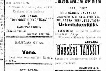 Vanha Kaleva: Esperanton lukeminen kiinnostaa Oulun työväenopistossa, alettaneen opettaa myös oppikouluissa