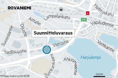 Liiketilaa kaavoitetaan puistoon Rovaniemellä – Veitikanlammen lähelle 3000-3500 kerrosneliömetrin liikerakennus