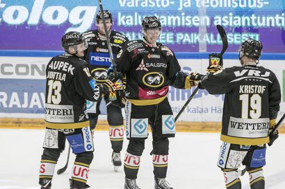 Krejcikin hattutemppu katkaisi JYPin voittoputken, Kärpät ylsi seuraennätykseensä kolmen pisteen voitoissa