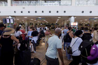 Britannia pitää kiinni karanteenista riskimaista palaaville – lentokenttä lobbaa matkustajatestejä, turistit panikoineet
