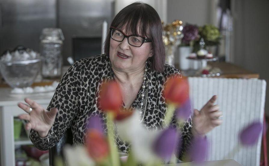 Eija Keränen työskentelee konsulttina. Kehittäminen on aina ollut hänen intohimonsa.