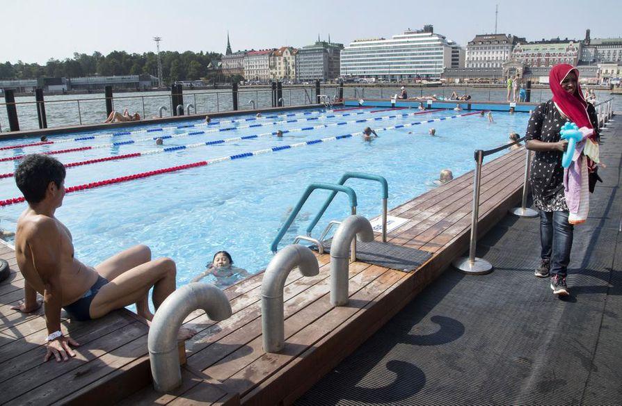 Helsingissä toimii merikylpylä Allas Sea Pool, jollainen tulee myös Ouluun mutta kooltaan pienempänä versiona.