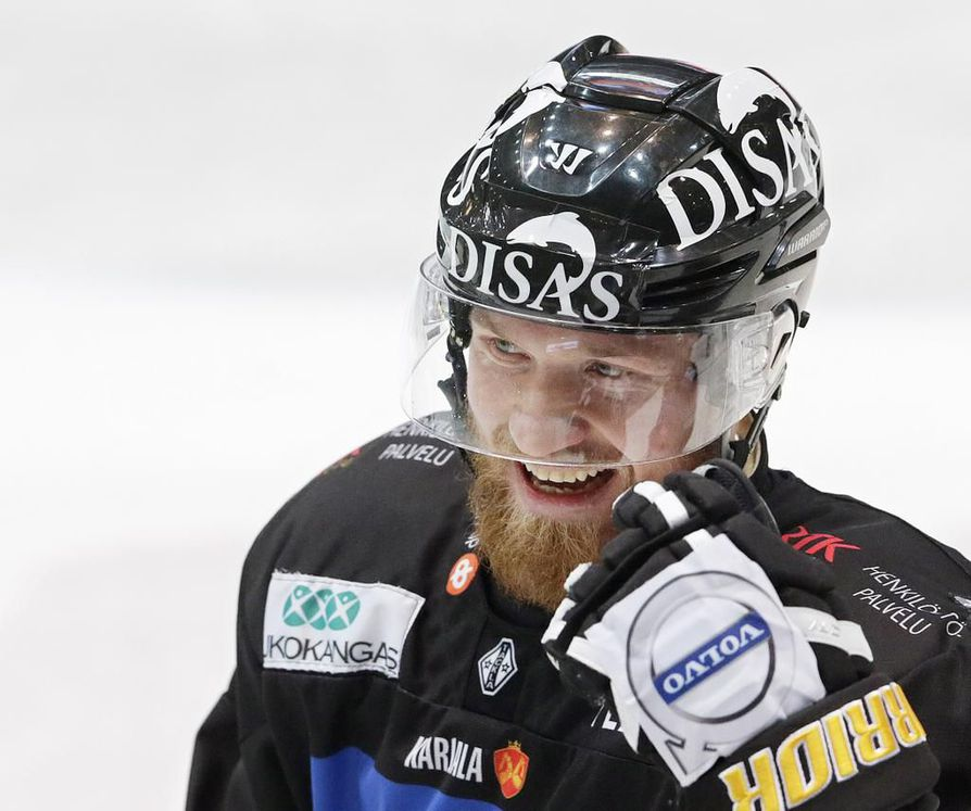 Kärppien Jari Sailio sai pitkän pelikiellon.