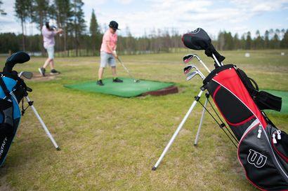 Golfkenttä edelleen Kuusamo Golfin harteilla – kesä alkanut varsin vilkkaasti