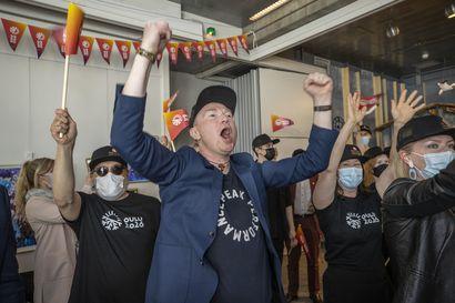 """Kisastudio riemuitsi Oulun kulttuuripääkaupunkitittelistä: """"Tämä on parasta, mitä Oululle on tapahtunut sen jälkeen, kun tänne saatiin yliopisto yli 60 vuotta sitten"""""""
