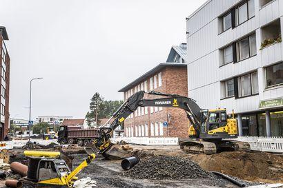 Rovaniemen keskustasta löytyi sodanaikainen räjähde