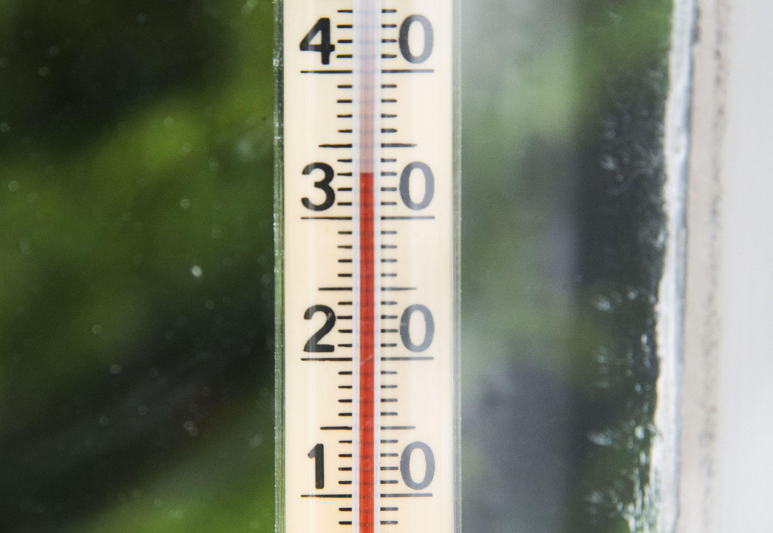 Huoneiston Lämpötila