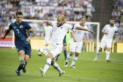 EM-valmistelut maaliin: Huuhkajat kohtaa maaliskuussa maailmanmestari Ranskan
