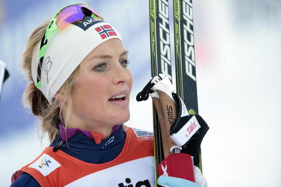 Therese Johaug nähdään kilpaladuilla jälleen ensi marraskuussa.