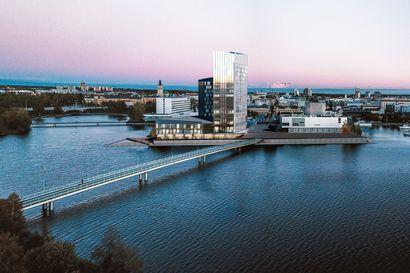 Voisiko museo- ja tiedekeskus Luuppi saada uudet tilat teatterin ja kirjaston kupeeseen osaksi Terwa Tower -tornitaloa?