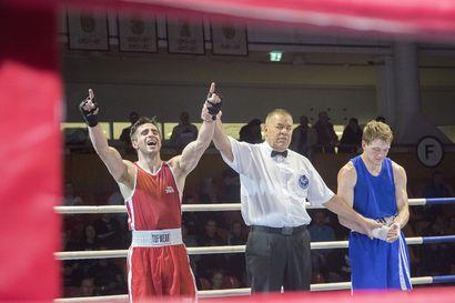 Suomen parhaat amatöörinyrkkeilijät iskevät yhteen Rovaniemellä, oululainen Aydin Behruz puolustaa kultaansa 69-kiloisissa - Kaleva näyttää sunnuntain finaalit suorana
