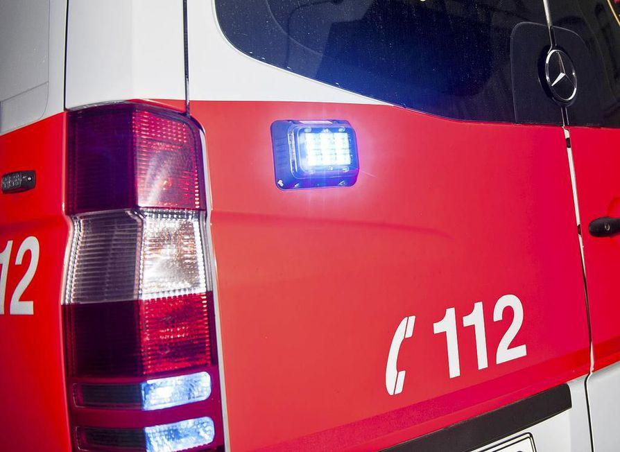 Hälytys onnettomuudesta tuli maanantaina noin kello 15.20. Kuvituskuva.