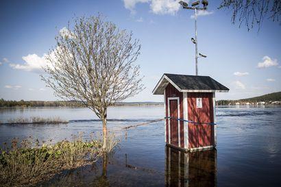 Rovaniemellä treenattiin tulvatilannetta tulevaisuutta varten –Ilmastonmuutos vähentää tulvia vasta noin 50 vuoden päästä