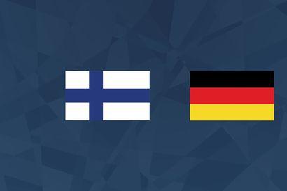 Maalikooste: Suomi löi Saksan välierässä yhdellä maalilla