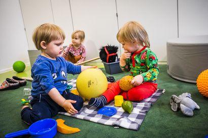 Pienten päiväkotiryhmiin on tunkua, vuoden ikäisistä pikkurovaniemeläisistä lähes puolet jo päivähoidossa