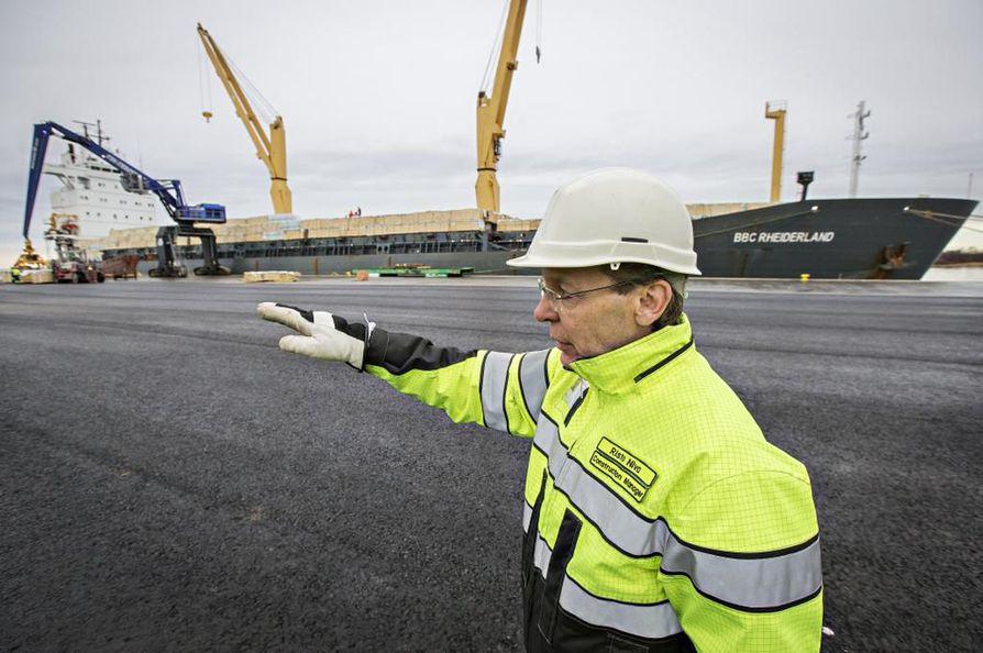 Oritkarin uusi satamalaituri on valmis.
