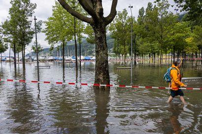 Länsi-Euroopan tulvissa jo ainakin 170 kuolonuhria, Saksassa pelastustöissä mukana 22000 ihmistä