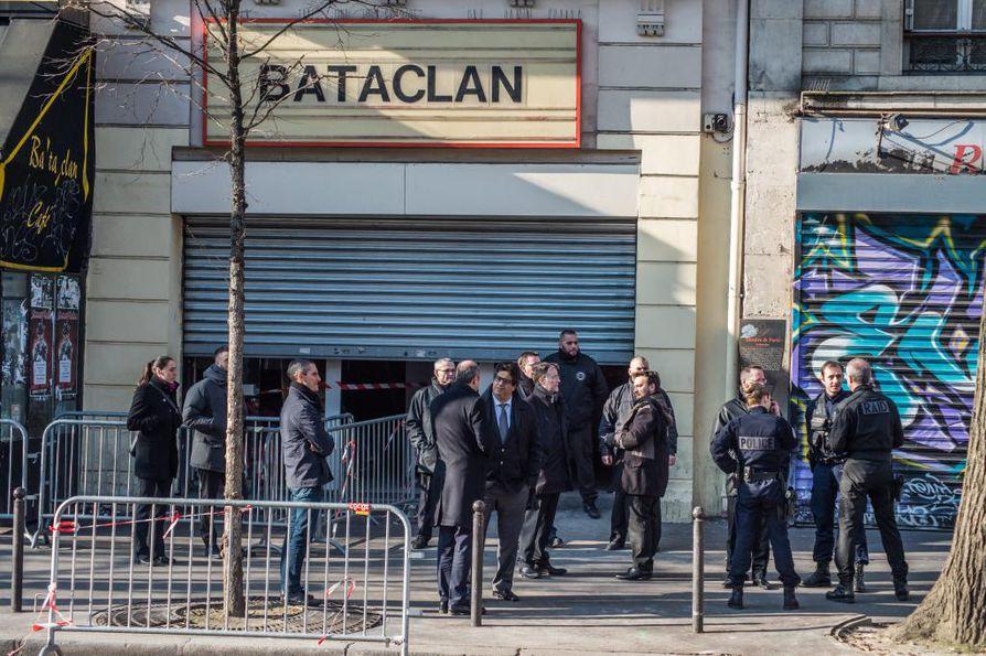 Bataclan-konserttitalossa tehtiin verinen isku viime marraskuussa.
