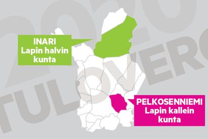 Inari on verotukseltaan Lapin halvin – Asuinpaikalla on väliä verotuksen kannalla, Lapissa verorasituksessa voi olla jopa noin 2300 euron ero